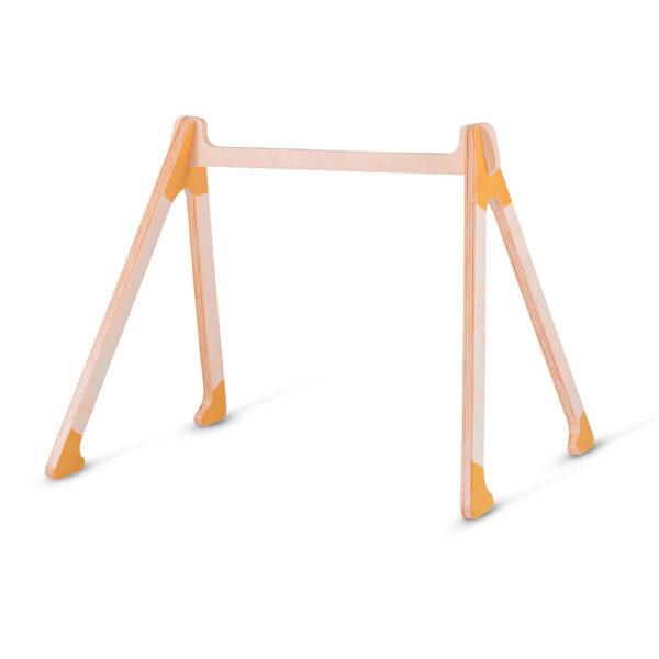 Modular flat pack baby gym made from eco-friendly birch plywood