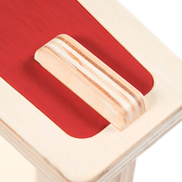 Modular premium flat pack bench made from eco-friendly birch plywood
