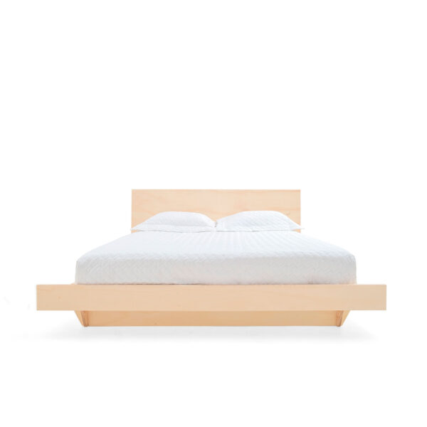 Modular premium flat packdouble bed made from eco-friendly birch plywood