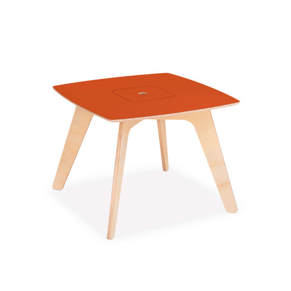 Modular premium flat pack kids table made from eco-friendly birch plywood