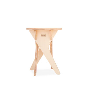 Modular premium flat pack kids bench made from eco-friendly birch plywood